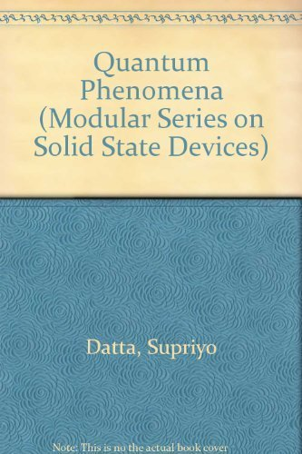 9780201079562: Quantum Phenomena