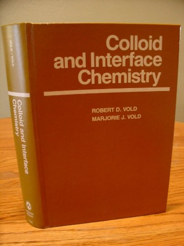 9780201081954: Colloid and Interface Chemistry
