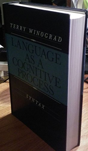 9780201085716: Language As a Cognitive Process: Syntax