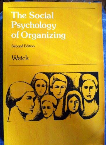 9780201085914: Social Psychology of Organizing (Topics in Social Psychology)