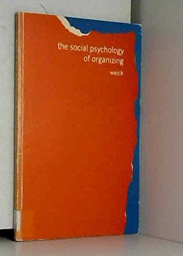 9780201085938: Social Psychology of Organizing (Topics in social psychology)