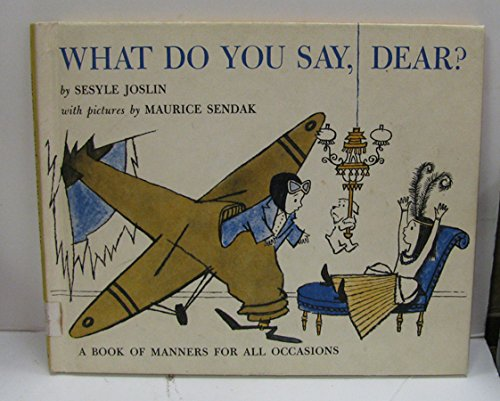 9780201093919: What do you say, dear? (A Young Scott book)