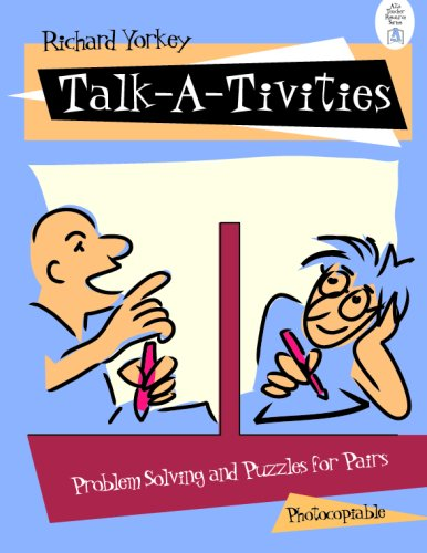 9780201099119: Talk-A-Tivities: Problem Solving and Puzzles for Pairs