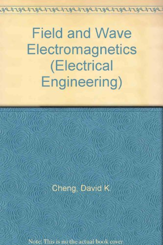 9780201101324: Field and Wave Electromagnetics (Electrical Engineering)