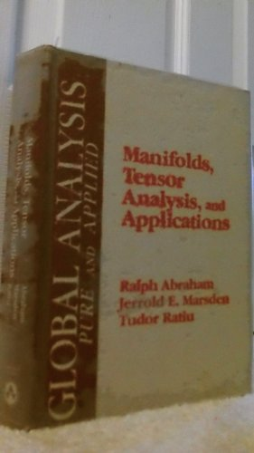 9780201101683: Manifolds, Tensor Analysis and Applications