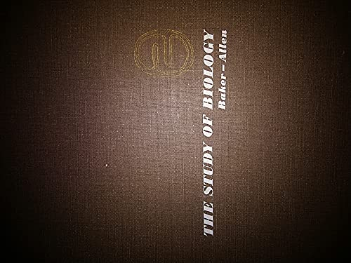 9780201101812: The Study of Biology