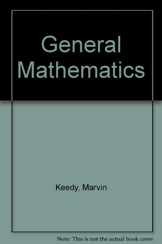 General Mathematics: Marvin Laverne Keedy