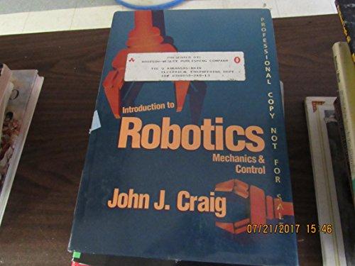9780201103267: Introduction to Robotics mechanics and Control