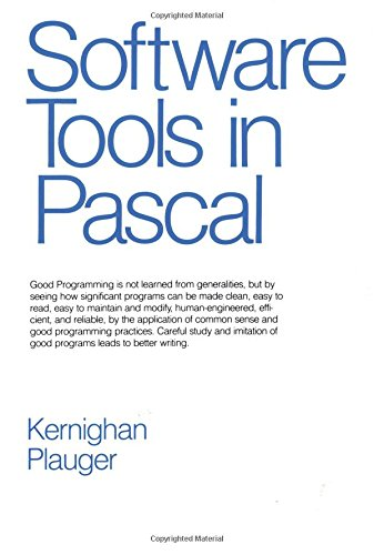 9780201103427: Software Tools in Pascal
