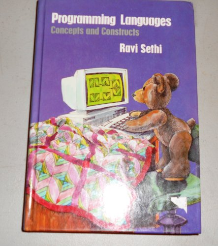 9780201103656: Programming Languages: Concepts and Constructs
