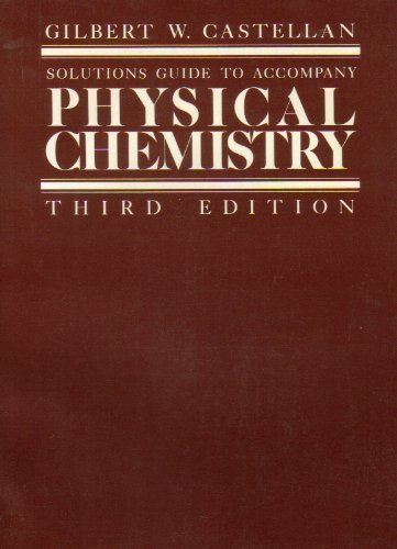 9780201103878: Solutions To Accompany Physical Chemistry