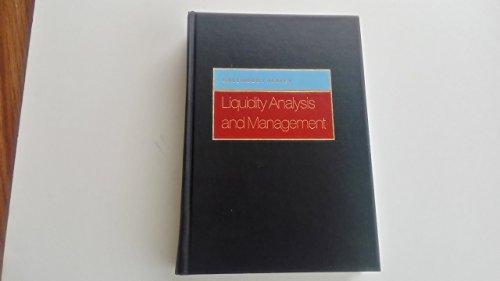 9780201105186: Liquidity Analysis and Management