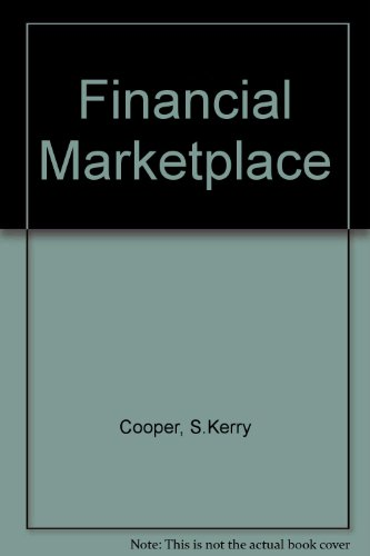 9780201105483: Financial Marketplace