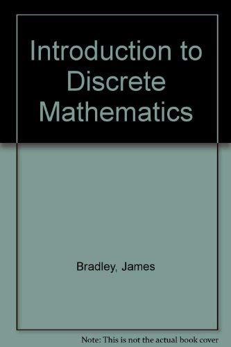 9780201106282: Introduction to Discrete Mathematics