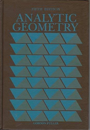 9780201108613: Analytic Geometry
