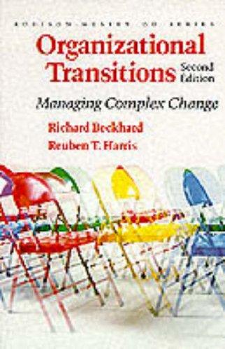 9780201108873: Organizational Transitions: Managing Complex Change (Addison-Wesley Series on Organization Development)