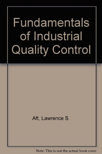 9780201109016: Fundamentals of Industrial Quality Control