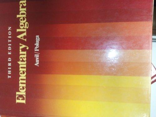 9780201110272: Elementary Algebra