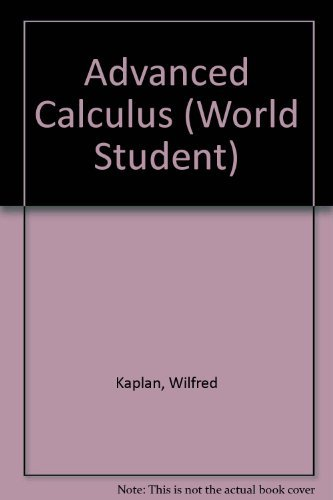 9780201116793: Advanced Calculus (World Student)