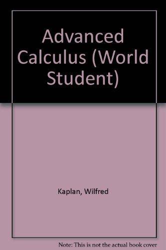 9780201116793: Advanced Calculus (World Student)