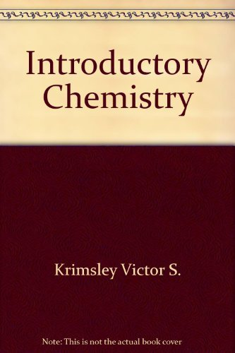 9780201116830: Introductory chemistry