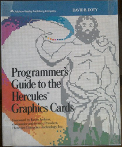 9780201118858: Programmer's Guide to the Hercules Graphics Cards