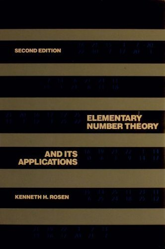 9780201119589: Elementary Number Theory and Its Applications
