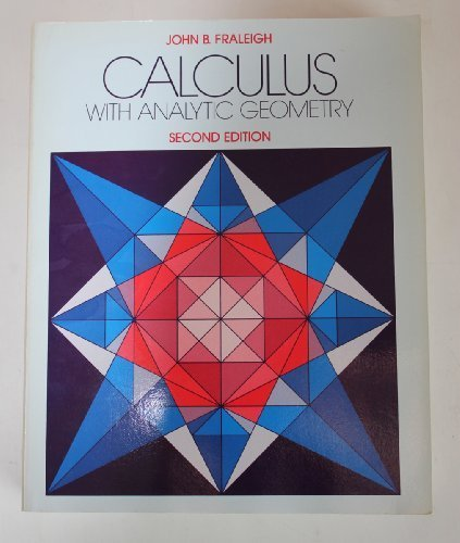 9780201120097: Calculus with analytic geometry