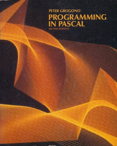 9780201120707: Programming in PASCAL