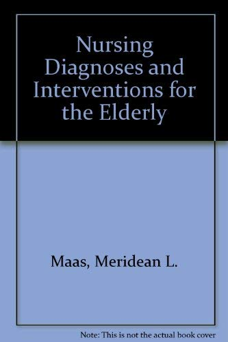 9780201126792: Nursing Diagnoses and Interventions for the Elderly