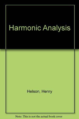 9780201127522: Harmonic Analysis