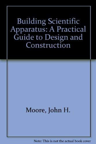 9780201131871 Building Scientific Apparatus A Practical Guide To
