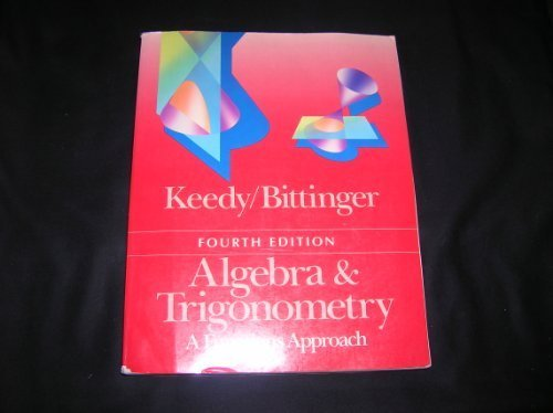 9780201133448: ALgebra & Trigonometry; a Functions Approach (Fourth edition)