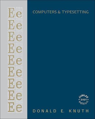 9780201134469: Computer Modern Typefaces