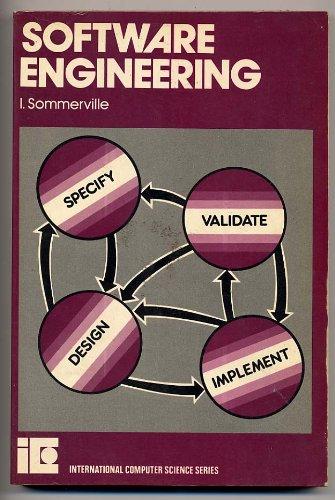 9780201137958: Software Engineering (International computer science series)