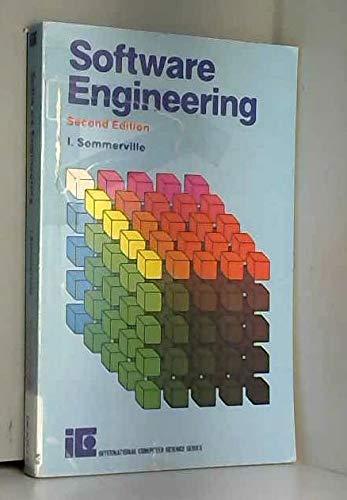 9780201142297: Software Engineering (International computer science series)