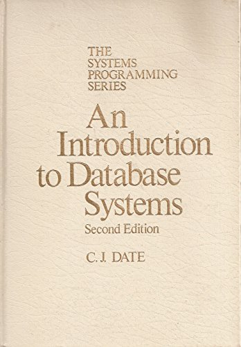 9780201144567: Introduction to Data Base Systems
