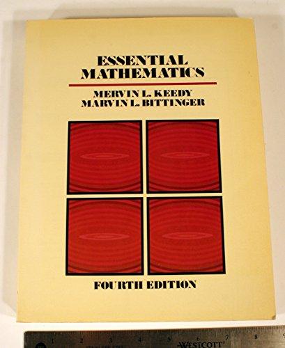 Essential Mathematics: Keedy, Mervin Laverne