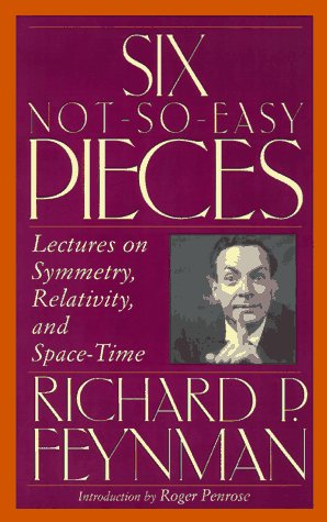 9780201150261: Six Not-So-Easy Pieces: Lectures on Symmetry, Relativity, and Space-Time; With 6 CD's (Helix Books)