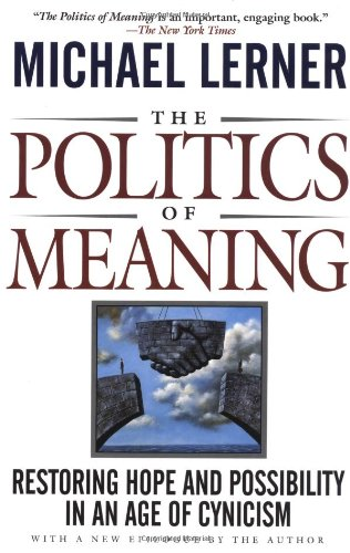 9780201154894: The Politics Of Meaning: Restoring Hope And Possibility In An Age Of Cynicism