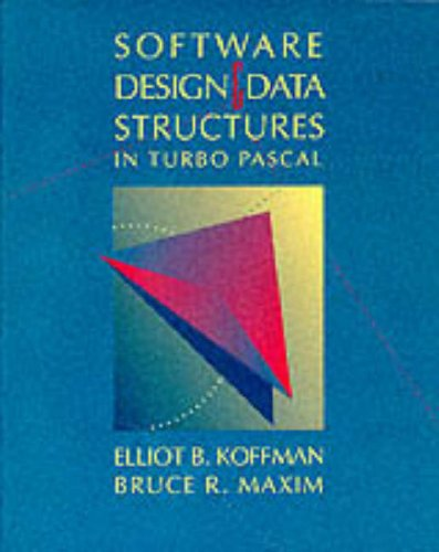 9780201156249: Software Design and Data Structures in Turbo PASCAL
