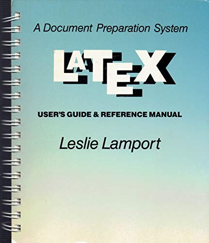 Latex. A Document Preparation System