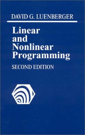9780201157949: LINEAR NONLINEAR PROGRAMMING