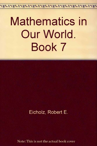 9780201160703: Mathematics in Our World. Book 7