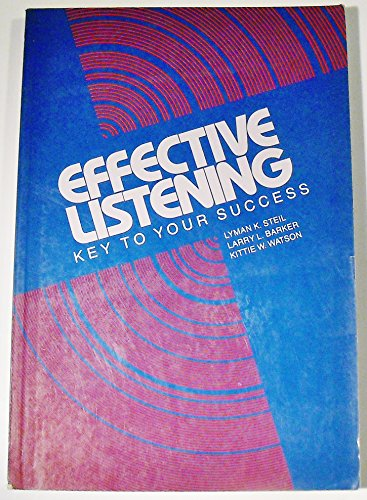 9780201164251: Effective Listening: Key to Your Success