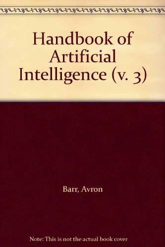 9780201168907: Handbook of Artificial Intelligence (v. 3)