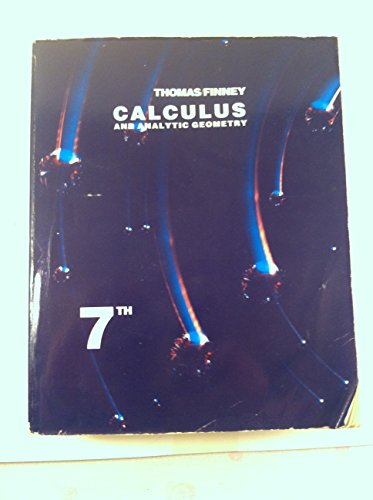9780201170696: Calculus and Analytic Geometry.