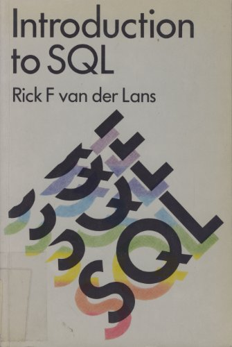 9780201175219: Introduction to SQL