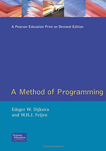 9780201175363: A Method of Programming