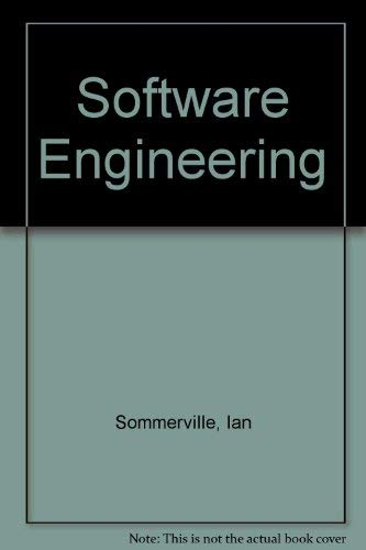 9780201175684: Software Engineering (International computer science series)